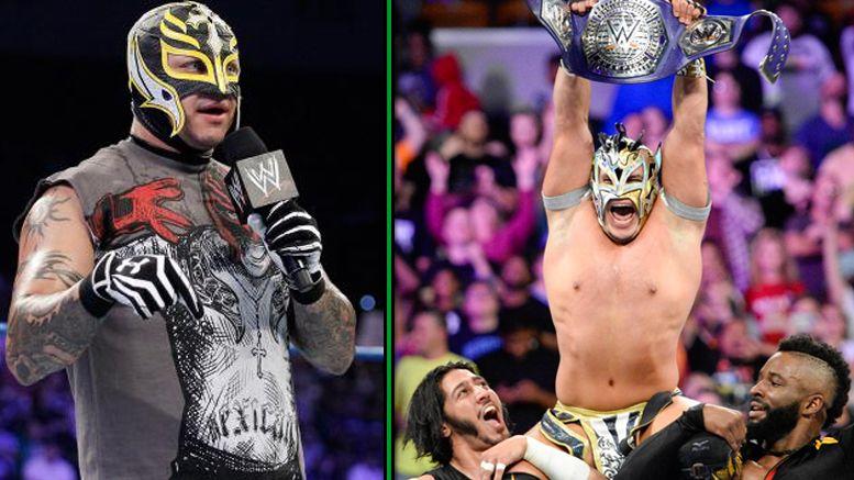kalisto rey mysterio cruiserweight title win raw reaction