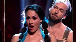 nikki bella dancing with the stars elimination video