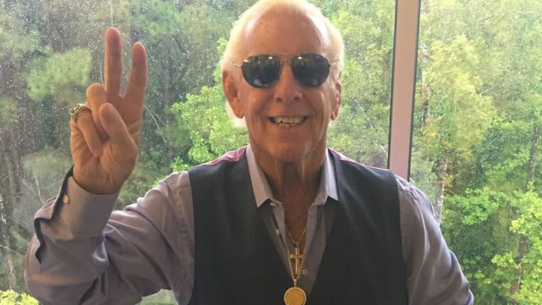convention ric flair appearance first health scare