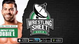 robbie e wrestling sheet radio impact