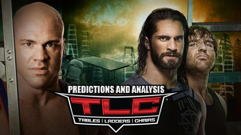wwe tlc predictions wwe pay per view event card matches