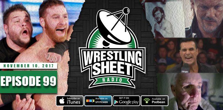 episode 99 wrestling sheet radio