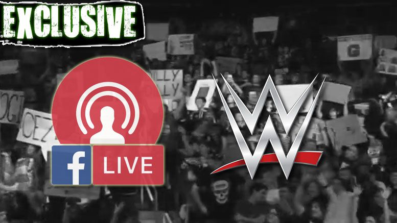 facebook live wwe new show in talks