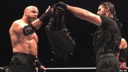 the shield triple h joined live event video seth rollins dean ambrose