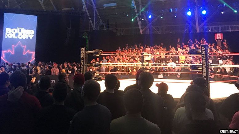 casting company impact tapings crowd paid