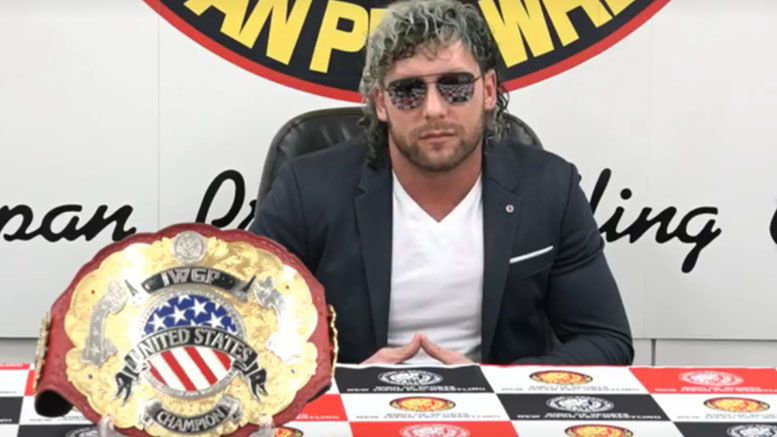 kenny omega chris jericho wrestle kingdom promo video press conference
