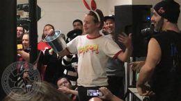 Macaulay Culkin bar wrestling home alone match interfere video