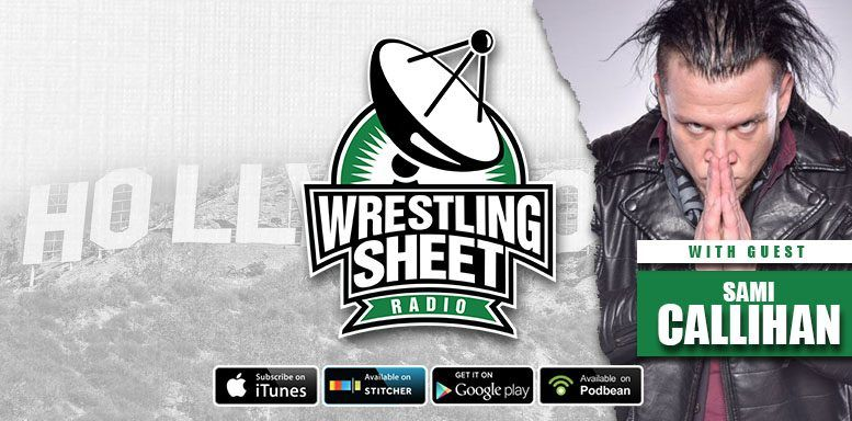 episode 102 wrestling sheet radio sami callihan rich swann ryan satin jamie iovine mixed match challenge