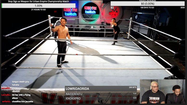 Rikishi S Wrestling School Launches Interactive Wrestling