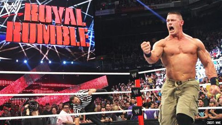 john cena royal rumble participant 2018