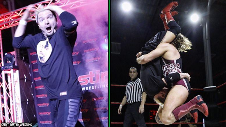 james ellsworth destiny wrestling return indies pete dunne tombstone austin aries