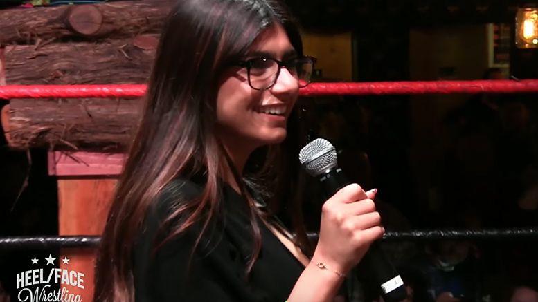 mia khalifa joey ryan sabotage wrestling video