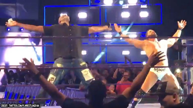 bobby roode karl malone smackdown live glorious video
