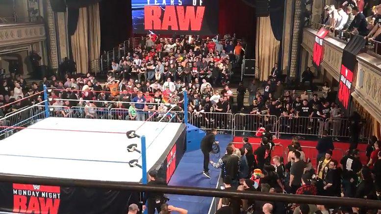 manhattan center raw 25 fans angry pissed off video bullshit refund