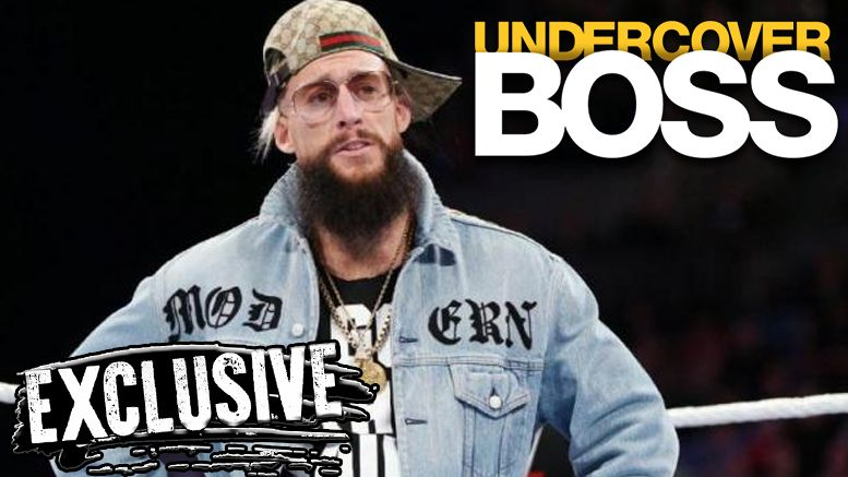 enzo amore undercover boss cut edit out episode wwe