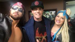 vanilla ice lucha underground season four taping