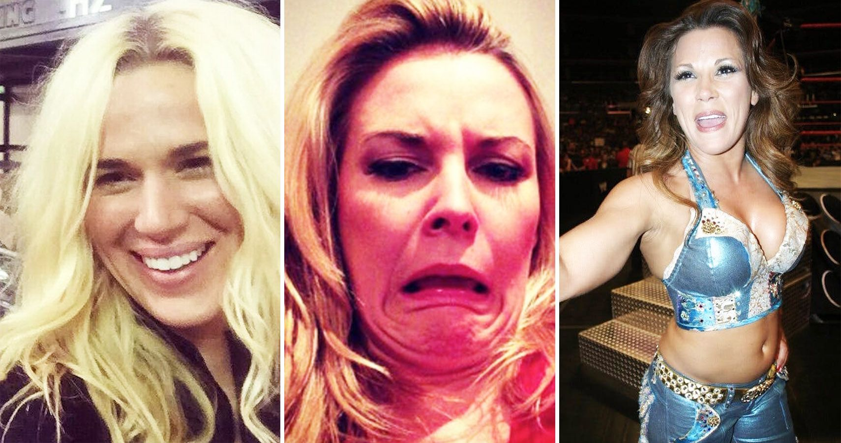 Photos Of The WWE Women\'s Roster Not Worrying About The Cameras