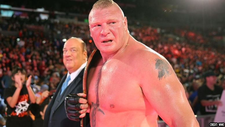 brock lesnar confirmed live event wrestlemania no show raw