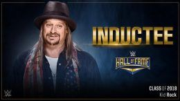 kid rock wwe hall of fame entrant wrestlemania