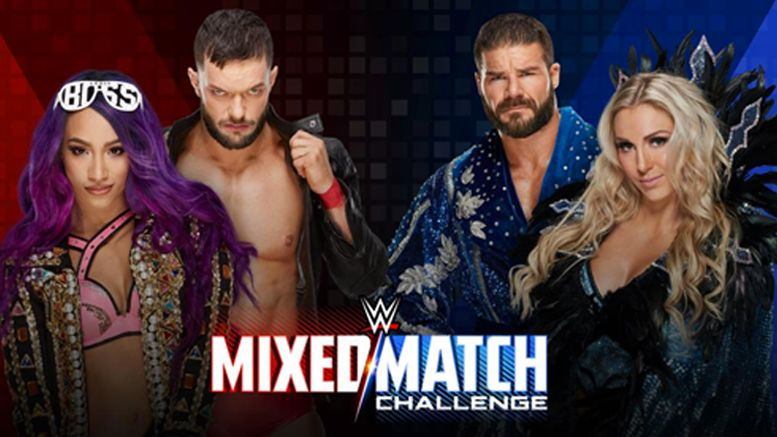 charlotte flair mixed match challenge injury out