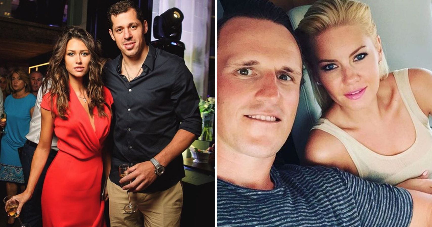Nhl players dating celebrities