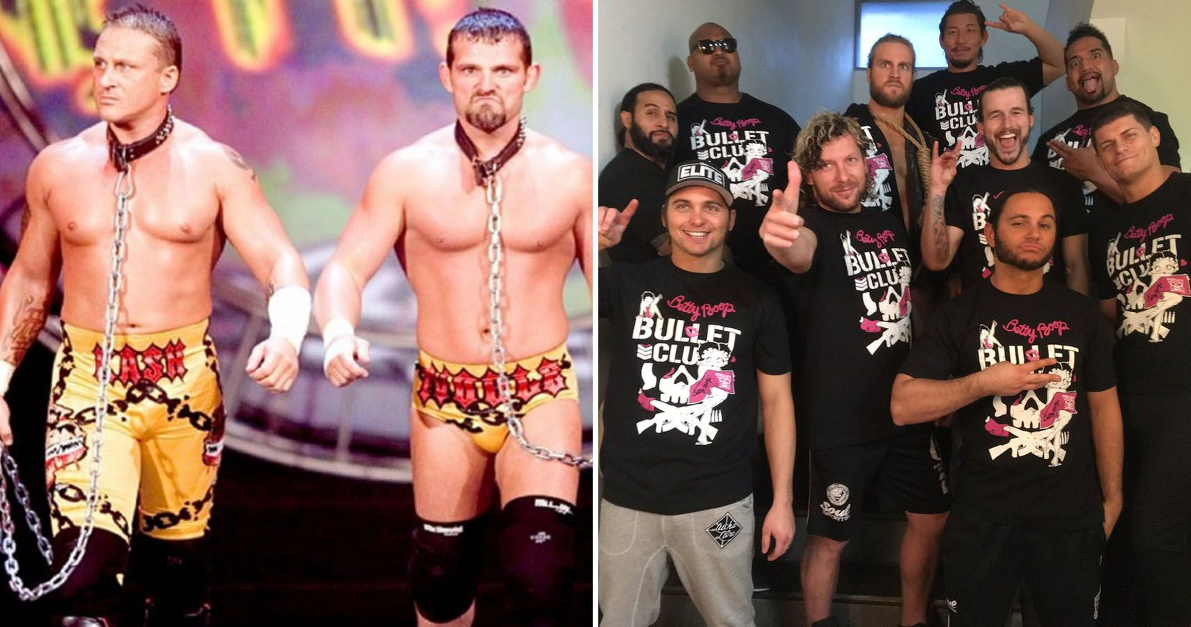 Tags Dance Teams New Members: 10 Recycled Tag Team Gimmicks That Totally Flopped (And 10