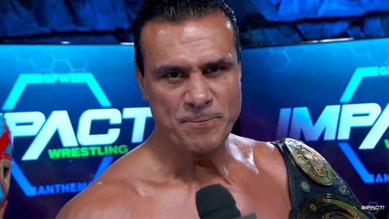 alberto el patron del rio impact wrestling fired