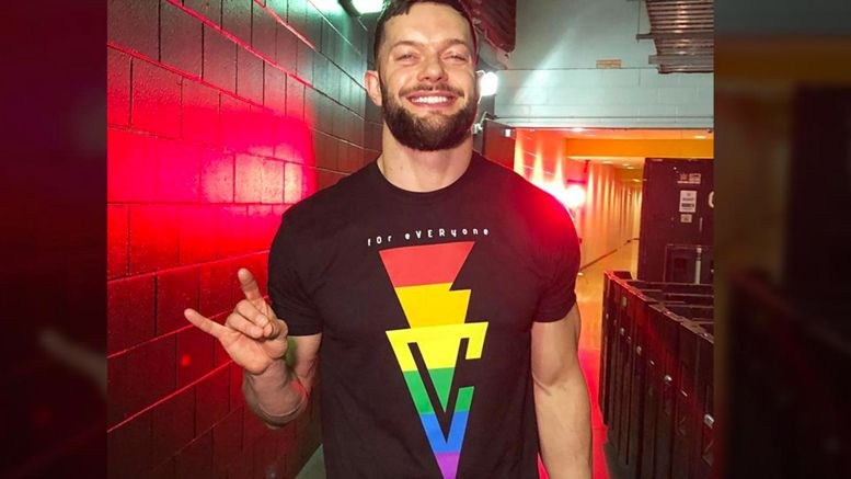 finn balor rainbow gear greatest royal rumble statement