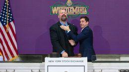 big show new york stock exchange bell video wrestlemania 34