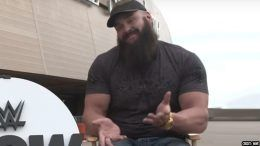 braun strowman tag partner wrestlemania 34 interview video