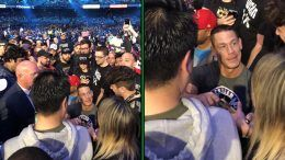 john cena crowd undertaker wrestlemania 34 photo