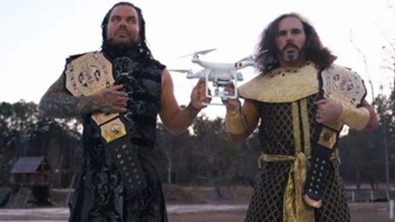 hardy boyz dvd impact wrestling footage wwe