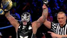 pentagon jr impact wrestling wins world championship video watch clips redemption ppv pay per view results