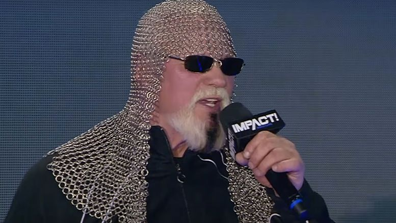 scott steiner impact wrestling media call redemption mexican people fat asses racist hulk hogan