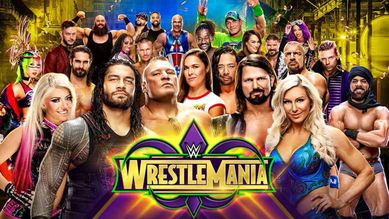 reactions wrestlemania 34 superstars video interviews