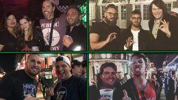 bourbon street wwe wrestlemania 34 weekend wrestlers pictures