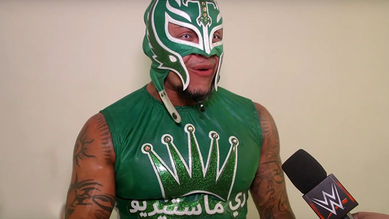 rey mysterio greatest royal rumble video gear meaning text