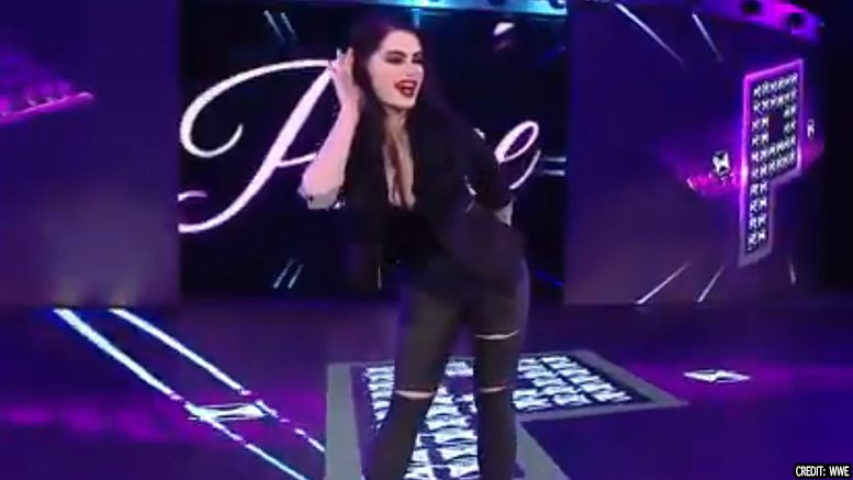 paige general manager smackdown live video