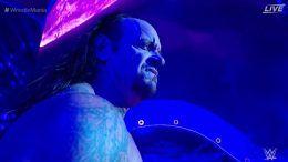 undertaker return answer john cena challenge wrestlemania 34 video