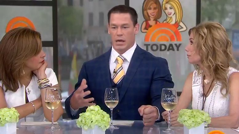 john cena breakup interview opens up today show video