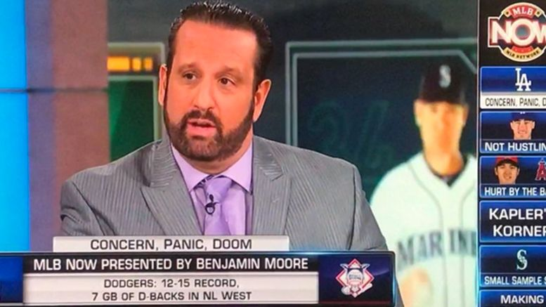 tommy dreamer mlb network now video guest analyst