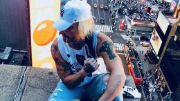 enzo amore times square appearance memorial day