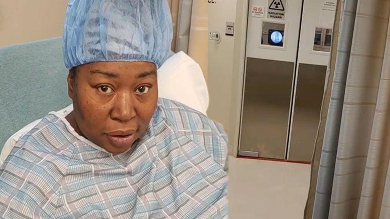 awesome kong surgery glow kia stevens back video