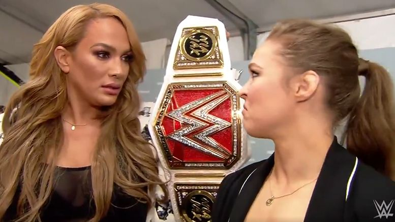 nia jax ronda rousey money in the bank title match