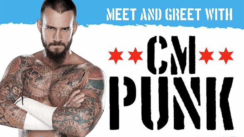 cm punk all in meet and greet sellout