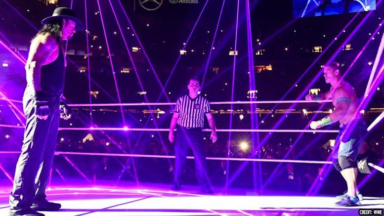 john cena undertaker complacency wwe locker room wrestlemania 34 interview