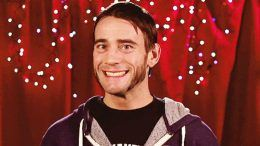 cm punk backstage all in press conference