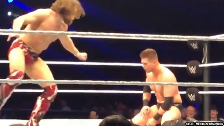 miz daniel bryan liverpool match wrestling wwe smackdown live video 2018
