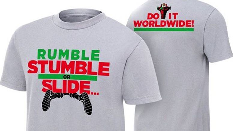 titus o'neil slide fall shirt wwe.com shop