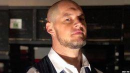 baron corbin hair monday night raw shaved head video